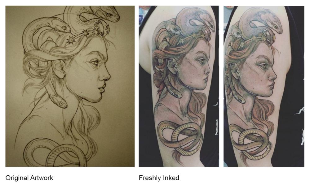 Medusa Is My Homegirl (tattoo)